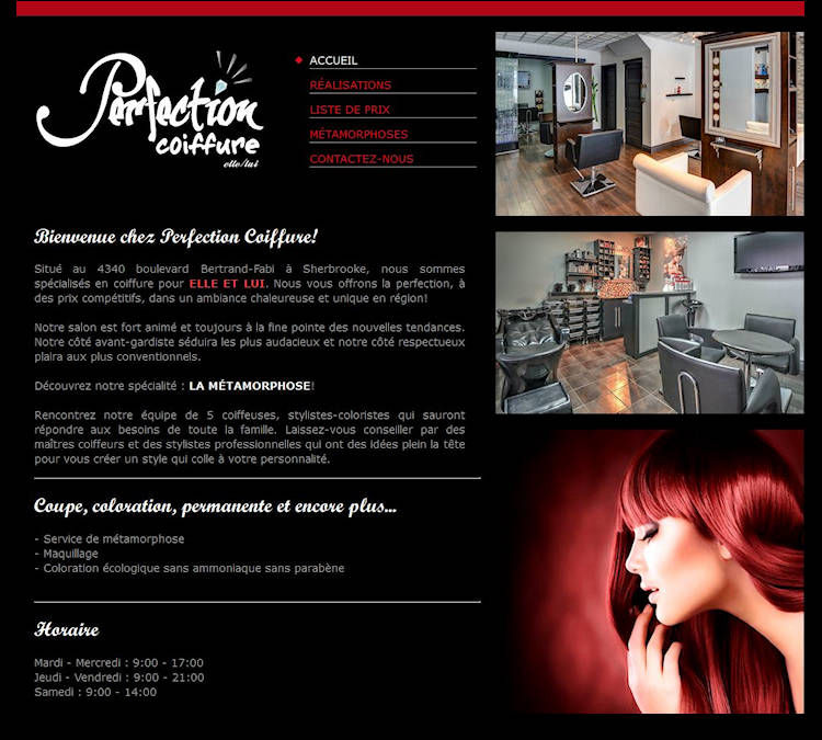 Perfection coiffure - Sherbrooke